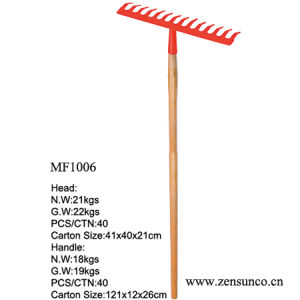 Wooden Handle 14teeth Garden Rake High Quality High Standard pictures & photos