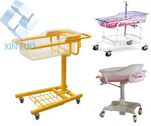 Factory Direct Price Multifunction Hospital Luxurious Baby Trolley pictures & photos