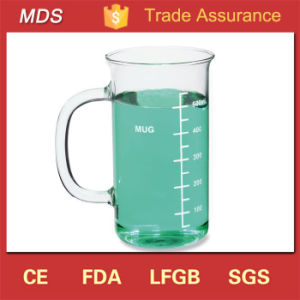 Hand Made 600ml Graduated Chemistry Glass Beaker Mug pictures & photos