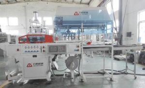 Automatic Egg Tray Container Forming Machine with Stacker pictures & photos
