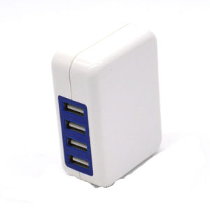 5V 4A 4 Ports USB Portable Charger Home Travel Wall Charger