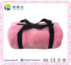 Founctional Plush Cylindrical Travel Bag pictures & photos