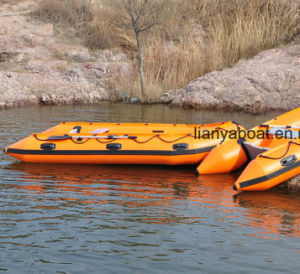Liya 2-6.5m PVC Hypalon Cheap Fishing Boat Family Inflatable Boats pictures & photos