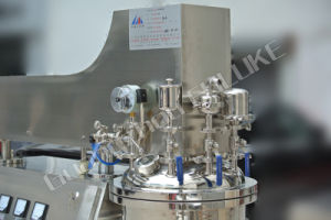 100liter Cosmetic Vacuum Emulsifying Mixer/100liter Vacuum Emulsifying Machine pictures & photos
