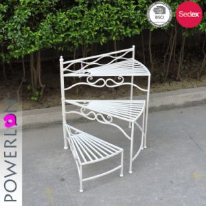 China 3 Tier Planter Stand Wrought Iron Outdoor Decoration China