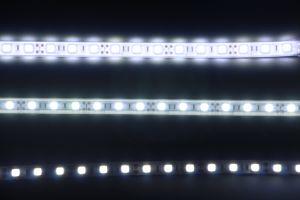 Outdoor W R G B Color Changing Smd5050 Led Strip Lights For Hotel Signage Decoration Building Lighting