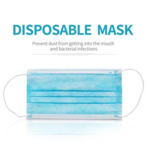 Disposable 3ply 3 Ply Non Woven Anti Flu Virus Mask