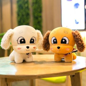 Lovely Wholesale High Quality Cute Stuffed Plush Soft Toy Puppy Dog