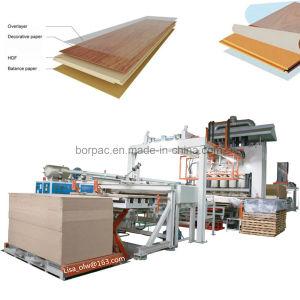 China Laminate Flooring Making Machine