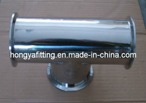Sanitary Stainless Steel Elbow with Clamped End (HYT03)
