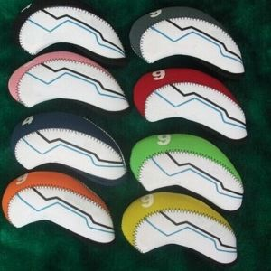 Sr Golf Iron Cover with Numbers Head Cover 8 Colors pictures & photos