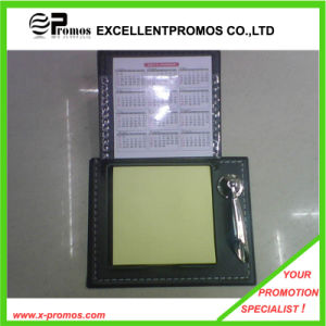 Promotional Self Adhesive Memo Pad with Leather Case (EP-H9130) pictures & photos
