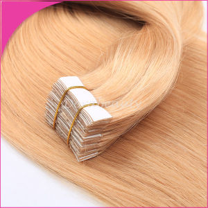 "Wholesale 20"" Tape Skin Weft Brazilian Virgin Hair Human Hair Extensions pictures & photos"