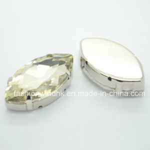 Marquise Shape Claw Crystal Garment/Hat/Shoes Accessories (CC8021) 7*15mm