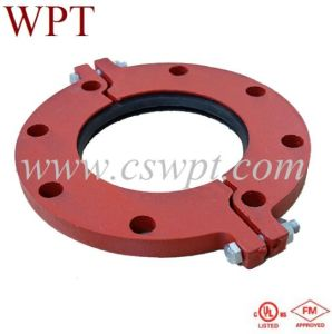 FM/UL Approved High Quality Grooved Split Flange for Fire Fighting