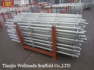 Construction Structure 85.5TF Galvanized Steel Ringlock Scaffolding pictures & photos