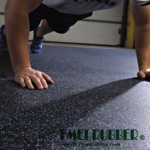 Durable Gym Rubber Floor Tile pictures & photos