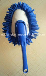 Chenille Heart Shape Plastic Grip Car Duster Brush pictures & photos