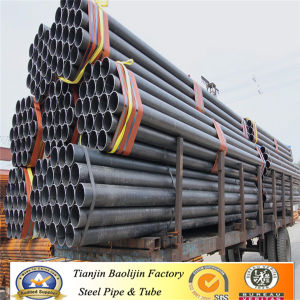 Gold Supplier Structural Ss400 Black Carbon Round Steel Tube pictures & photos