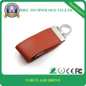 Leather Key Chains Model USB 2.0 Memory Stick Flash Drive