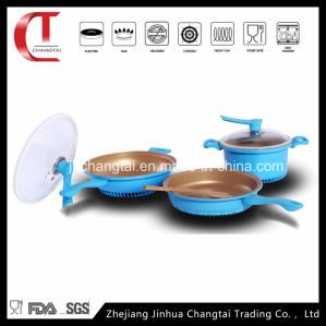 5 PCS Die Casting Aluminum Energy Saving Cookware Set