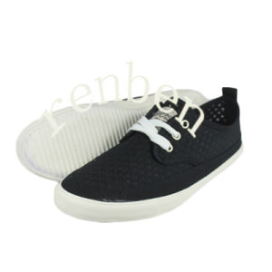 New Design Men′s Canvas Casual Shoes pictures & photos