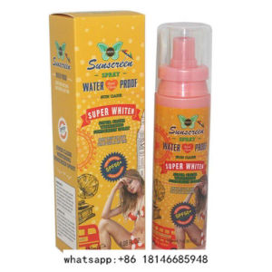 Super Clear Whitening Suncreen Spray pictures & photos