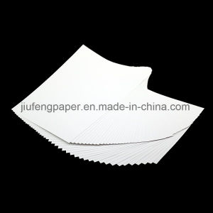 Hot Sale 100% Wood Pulp Dyed 100g Ivory White Paper pictures & photos