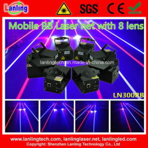 2000MW Rb 8-Head Mobile Laser Net (LN300RB) pictures & photos