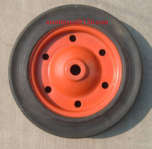 13*3 Solid Rubber Wheel pictures & photos