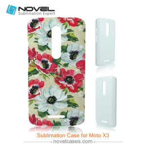 New 3D Blank Mobile Phone Case for Moto X3