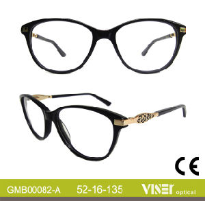 Handmade New Design Women Glasses Opticals (82-B) pictures & photos