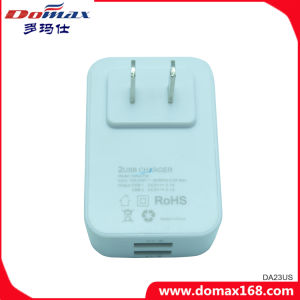 Mobile Phone Gadget 2 USB Micro Fast Adaptive Charger pictures & photos
