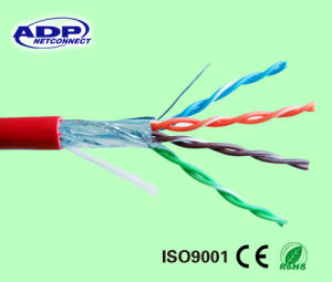 FTP Cat5e LAN Cable 4pr 24AWG Network pictures & photos