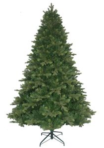 Pvc Pe Christmas Tree With Fat Shape Su98