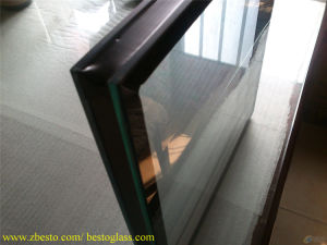 Interior Door Window Structural Full Frameless Partition Glass Wall Panel