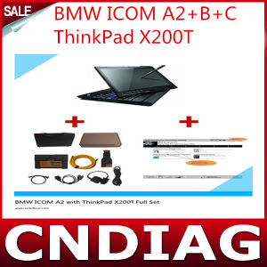 Icom A2+B+C for BMW with Thinkpad X200t Installed Latest Rheiggold Software