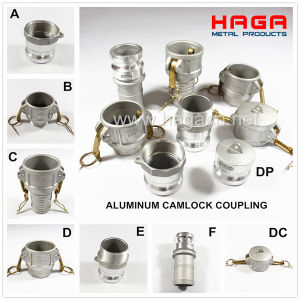 High Quality Aluminum Camlock Quick Release Coupler pictures & photos