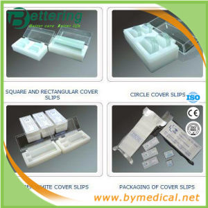 High Quality Laboratory Medical Microscope Cover Glass pictures & photos