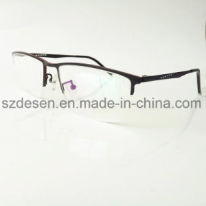 Wholesale Fashion Classic Rectangle Half Rim Spectacles Frame pictures & photos