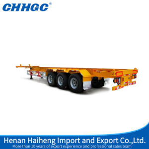 3 Axle Skeleton Semi Trailer