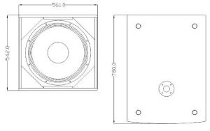 "Single 18"" Subwoofer Professional Speaker pictures & photos"