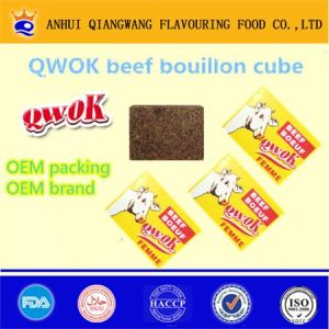 Qwok Halal Bouef Bouillon Cube Beef Seasoning Cube Beef Stock Cube