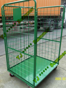 3 Sided Open Front Steel Roll Container Capacity pictures & photos
