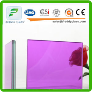 Clear and Purpal Laminated Safety Glass (6.38mm, 8.38mm, 10.38mm, 12.38mm) pictures & photos