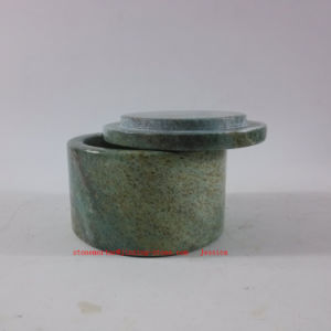 Green Marble Jars /Green Marble Canisters pictures & photos