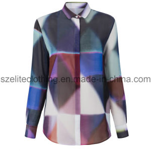 Sublimation Chiffon Shirt for Women (ELTWDJ-8) pictures & photos