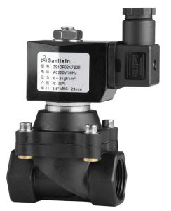 Plastic Direct Acting Normally Closed Solenoid Valve for Water Air pictures & photos