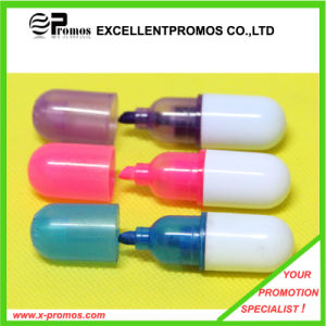 Personalized Logo Imprint Pill Capsule Highlighter (EP-H9159) pictures & photos
