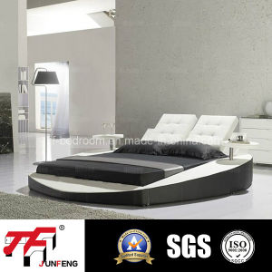 2016 Modern Leather Bed J-21